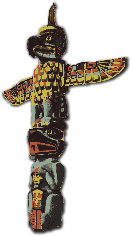 BIG IMAGE (PNG) - PNG Totem Pole