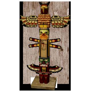File:Marketplace Tlingit Totem Pole-icon.png - PNG Totem Pole