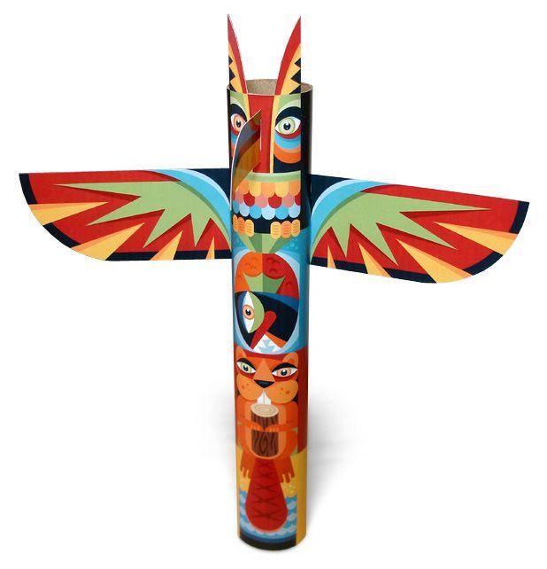 Totem Pole - PNG Totem Pole