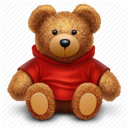 bear, gift, present, toy icon - PNG Toy