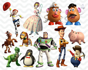 Toy Story Clipart, High Resolution Toy Story Images, Toy Story Birthday  Party, Disney - PNG Toy Story