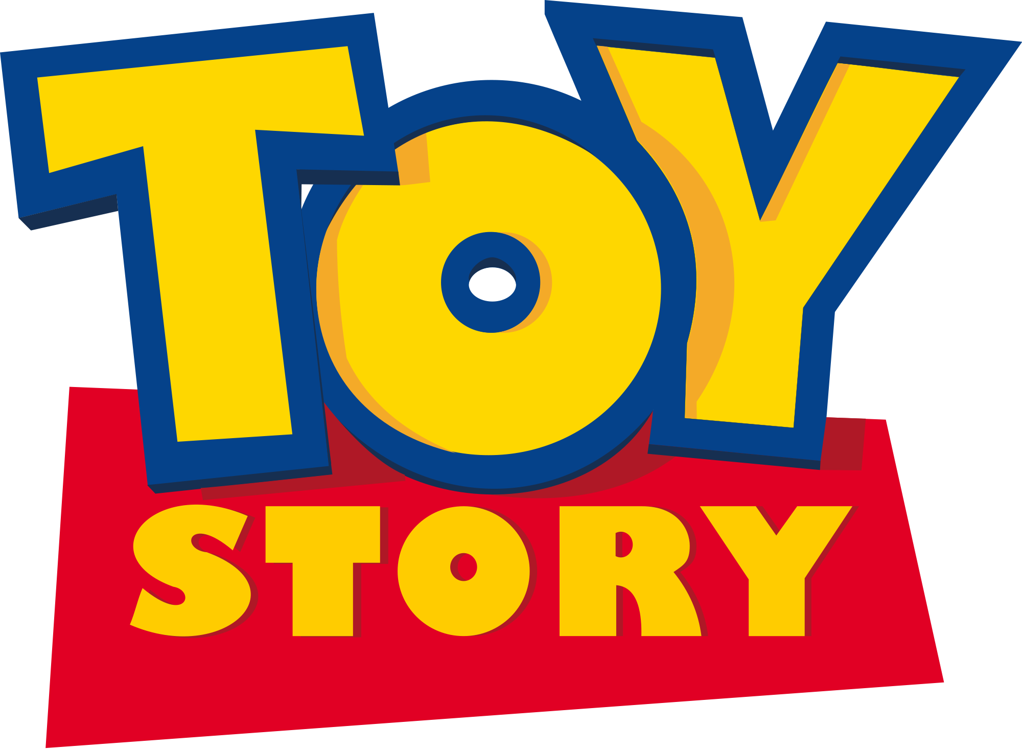 Toystorylogo.png - PNG Toy Story