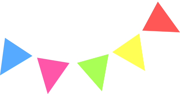 Flag banner pennant banner clipart 2 - PNG Triangle Flag