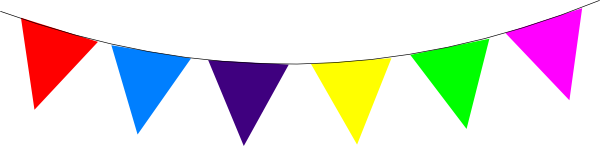 Triangle flag banner clipart free images - PNG Triangle Flag