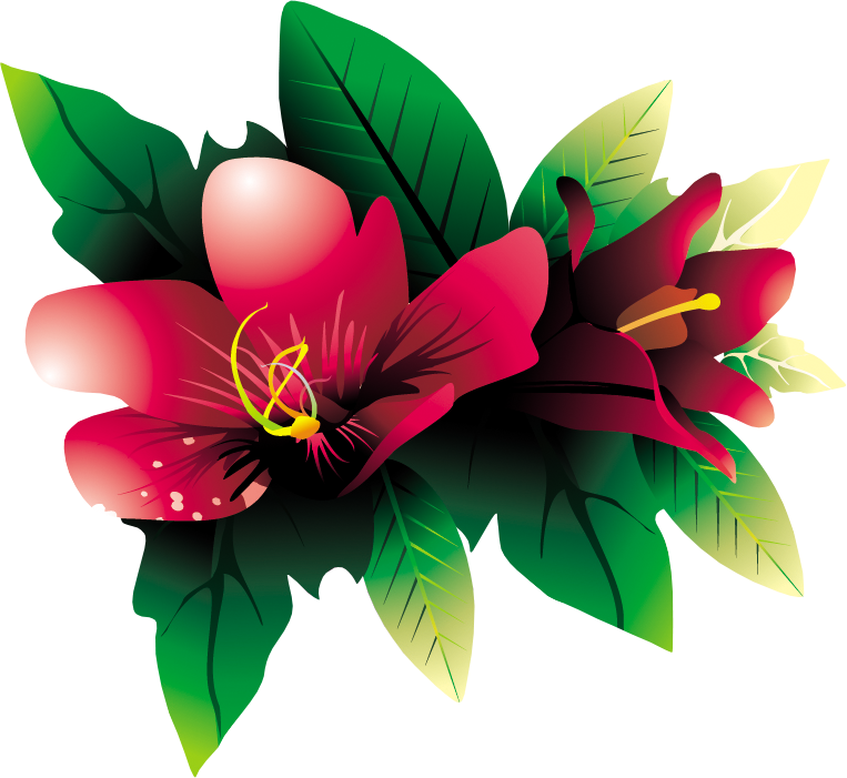 Pink Exotic Flower PNG Clipar