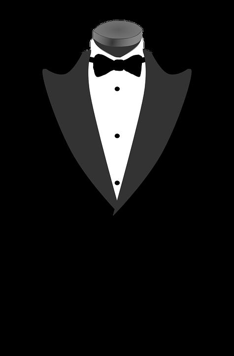 Suit, Tie, Tuxedo, Formal, Prom, Tux, Wedding, Bowtie - PNG Tuxedo
