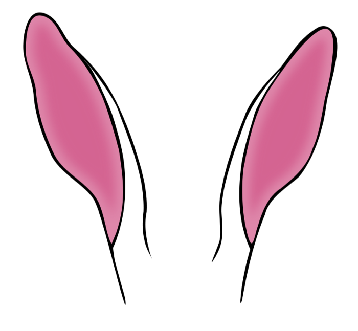 pin Rabbit clipart rabbit ear #2 - PNG Two Ears