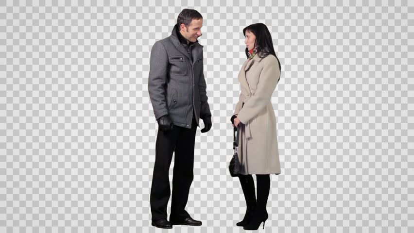 PNG Two People Talking - 82825