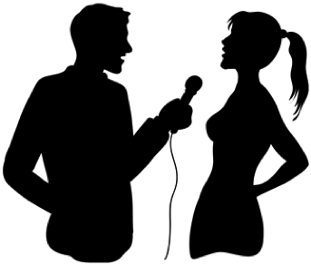 PNG Two Persons Talking - 82997