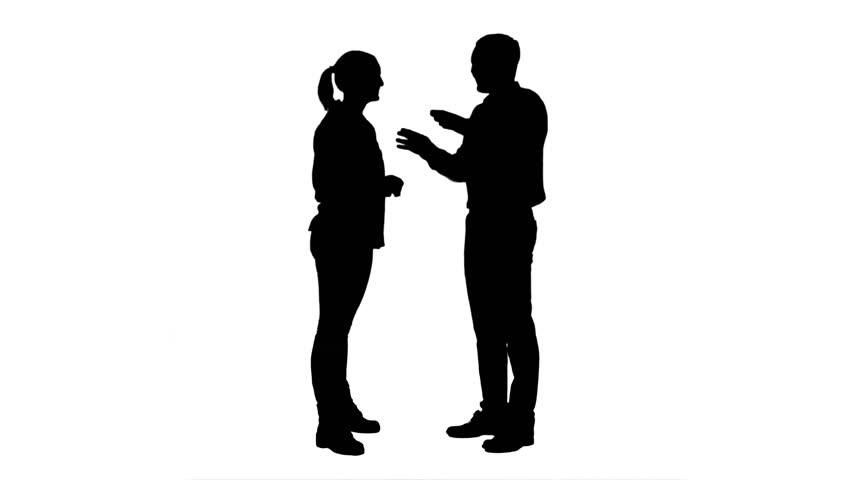 PNG Two Persons Talking - 83000