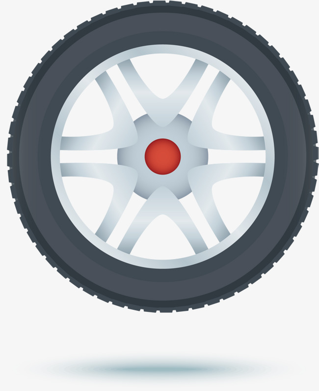 Black tire, Cartoon, Tyre, Automobile Structure Free PNG and Vector - PNG Tyre