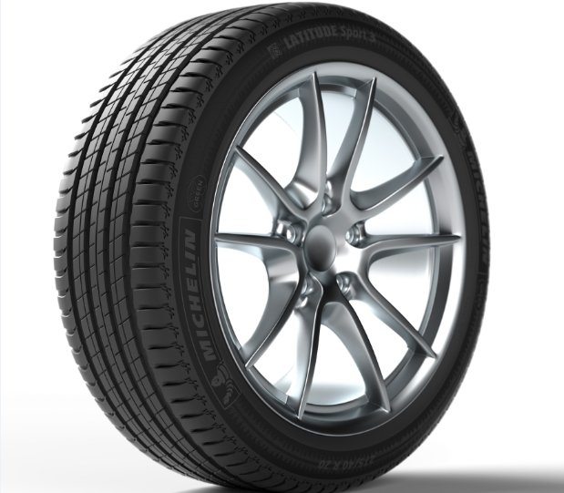 Michelin Latitude Sport 3 tyre - PNG Tyre