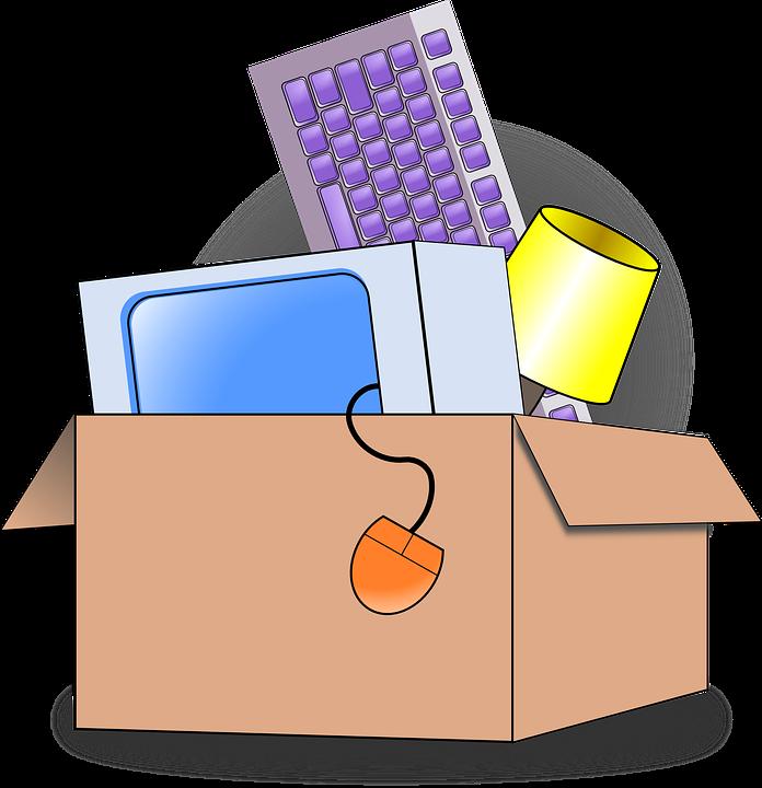 Verpackung, Bewegen, Karton, Umzug, Paket - PNG Umzug Buro
