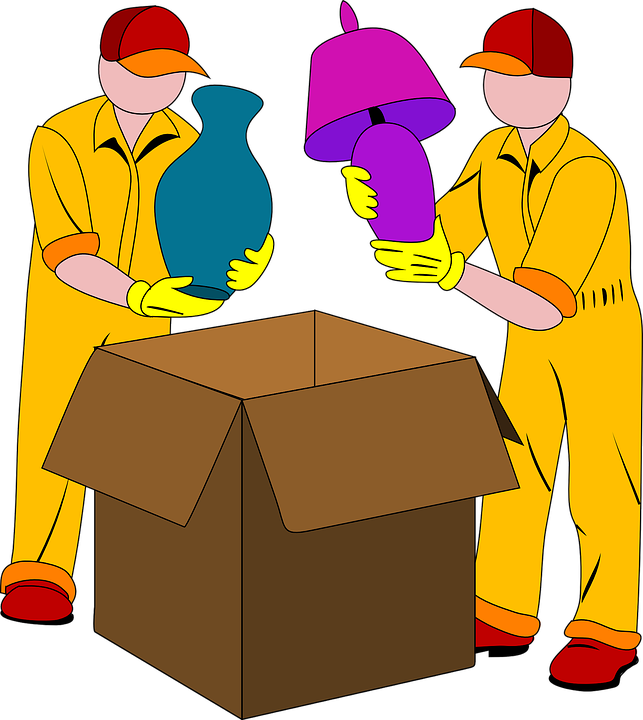 Umzug, Verpackung, Box, Licht, Vase, Pack, Karton - PNG Umzug Kostenlos