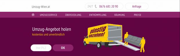 Umzug-Wien.at Web - PNG Umzug Kostenlos