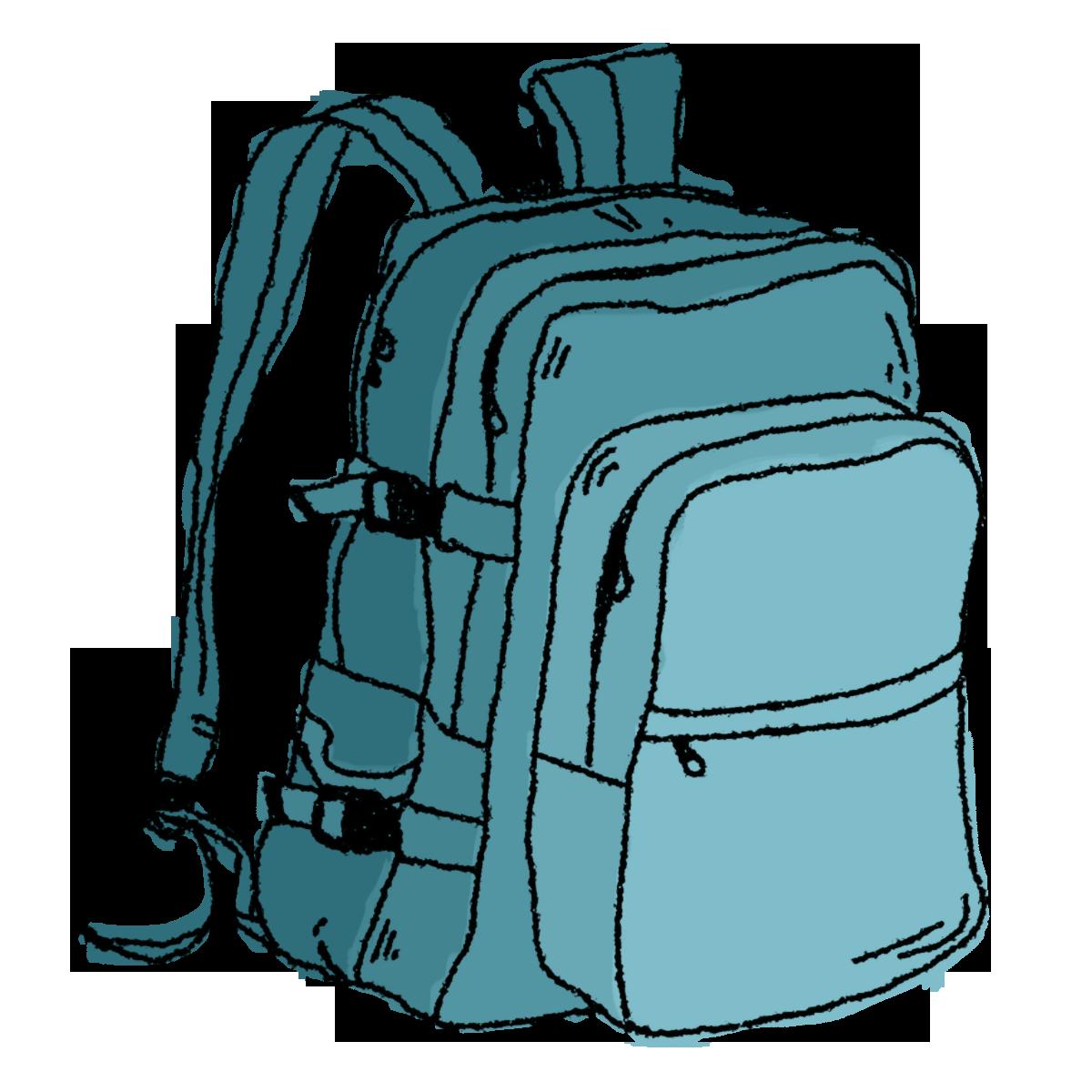 PNG Unpack Backpack - 80597