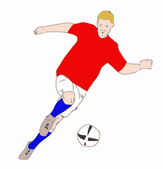 Jalkapallo, Urheilu, Mies, Pallo, Tavoite, Kenttä - PNG Urheilu