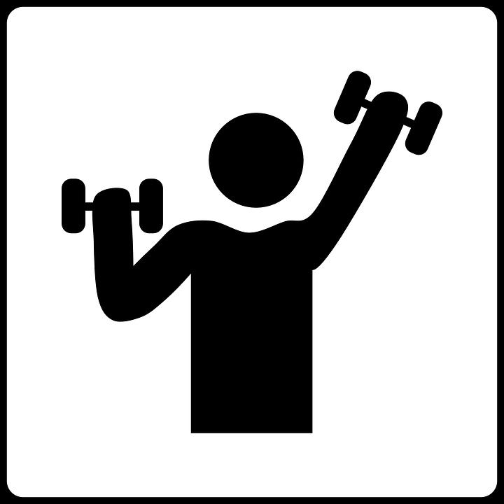 Kuntosali, Painot, Urheilu, Kehonrakennus - PNG Urheilu