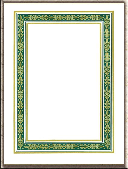 PNG Urkundenrahmen - 81867
