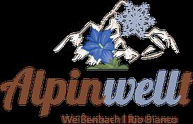 Logo der Alpinwellt Weißenbach im Tauferer Ahrntal - Urlaub in den  Südtiroler Bergen - PNG Urlaub Berge