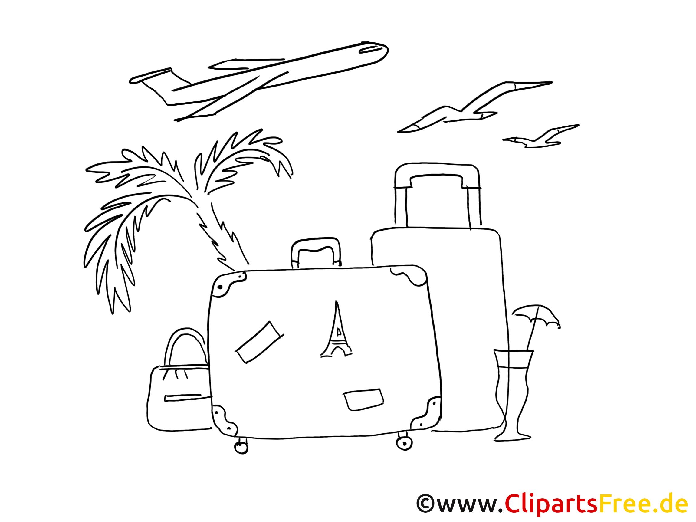 Urlaub malvorlage  PNG Urlaub Gratis Transparent Urlaub Gratis.PNG Images. | PlusPNG