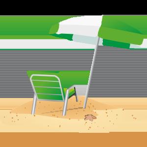 Liegestuhl mit sonnenschirm clipart  PNG Urlaub Liegestuhl Transparent Urlaub Liegestuhl.PNG Images ...