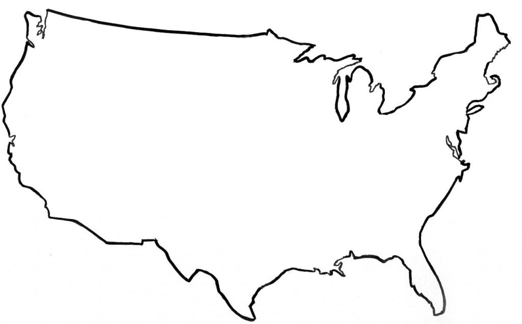 PNG Usa Outline - 81742