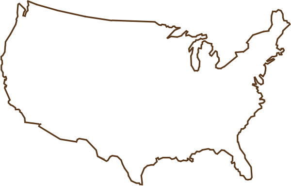 PNG Usa Outline Transparent Usa OutlinePNG Images PlusPNG