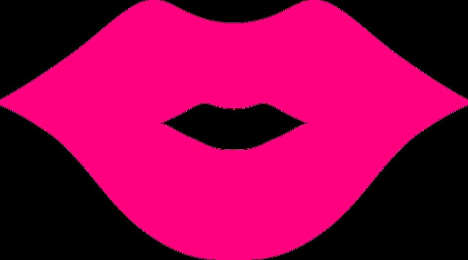 Wargi, Różowy, Usta, Pocałunek, Smooch, Sexy, Kissing - PNG Usta