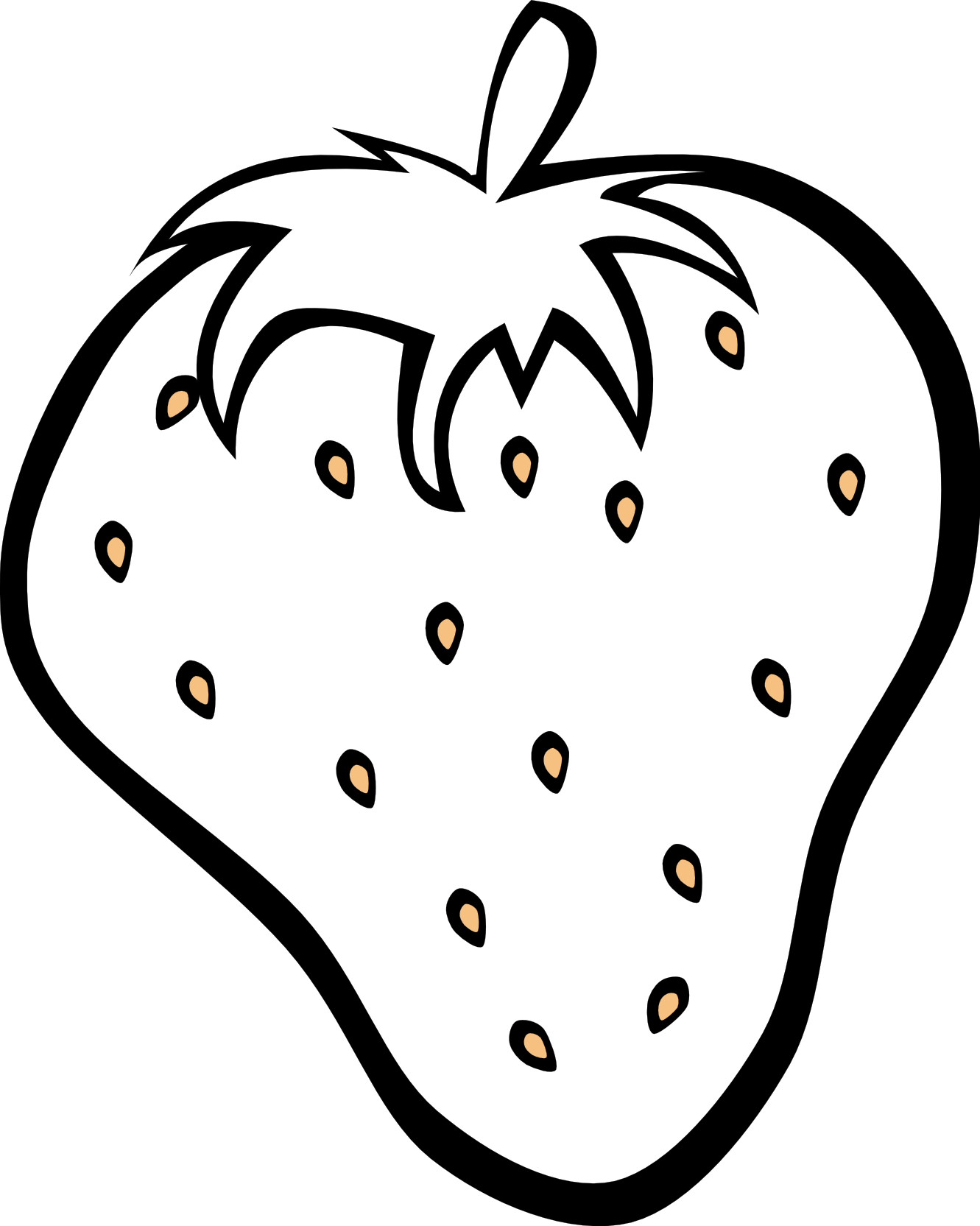 black and white fruit clipart - PNG Vegetables And Fruits Black And White