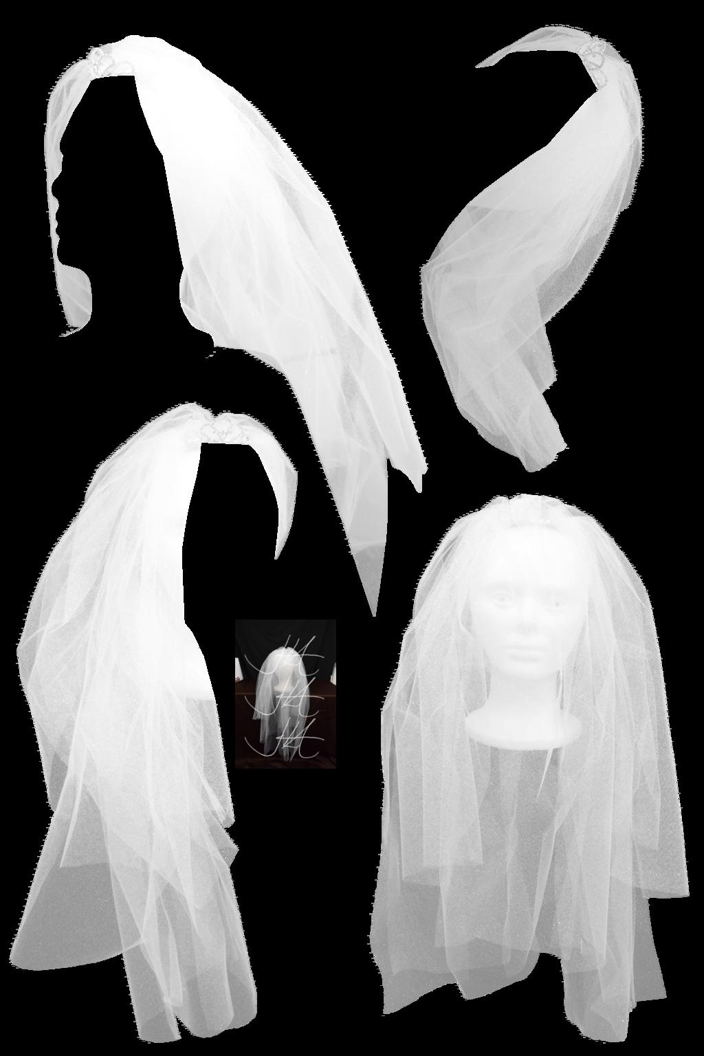 . PlusPng.com Bridal Veil 2 png stock by Mom-EsPeace - PNG Veil