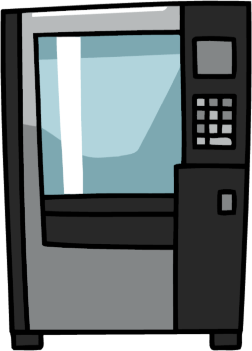 Image - Vending Machine.png | Scribblenauts Wiki | FANDOM powered by Wikia - PNG Vending Machine