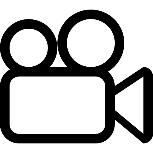 Video camera outline free icon - PNG Video Camera