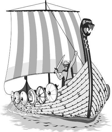 PNG Viking Ship - 56215