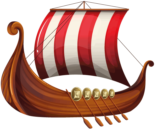 PNG Viking Ship - 56214