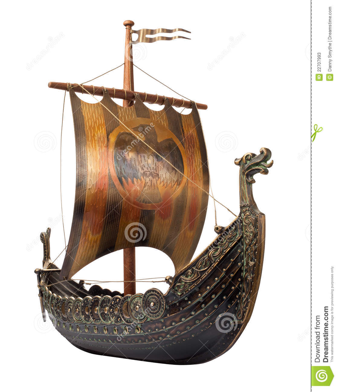 PNG Viking Ship - 56222