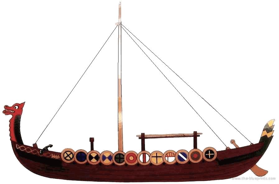 PNG Viking Ship - 56217