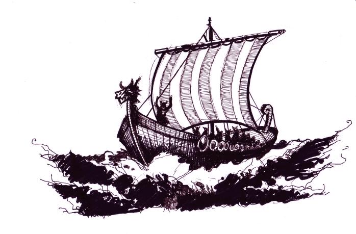 PNG Viking Ship - 56225