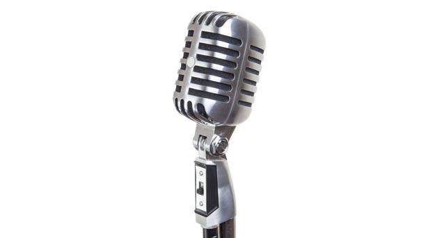 PNG Vintage Microphone - 56176
