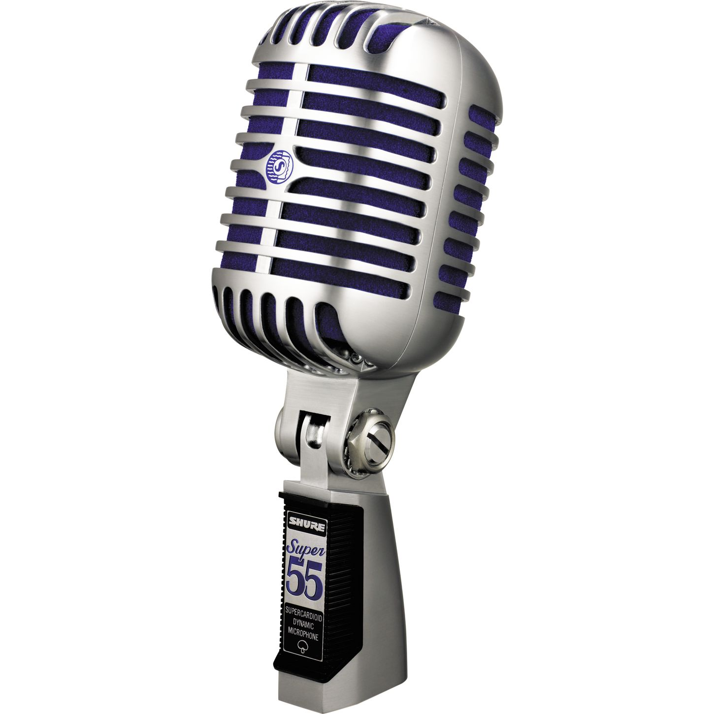 Microphone Stand Spotlight Clipart - PNG Vintage Microphone