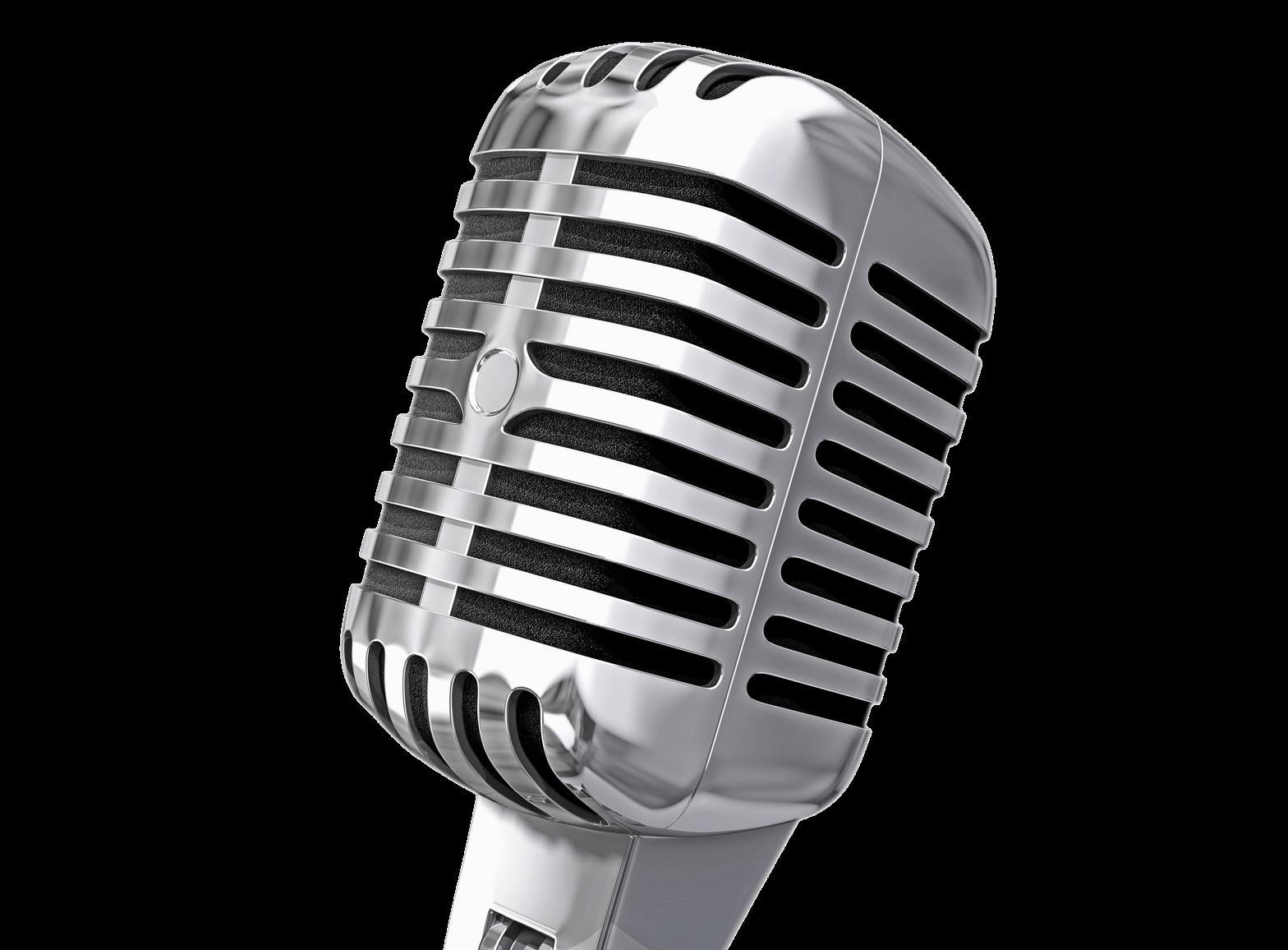 PNG Vintage Microphone - 56165