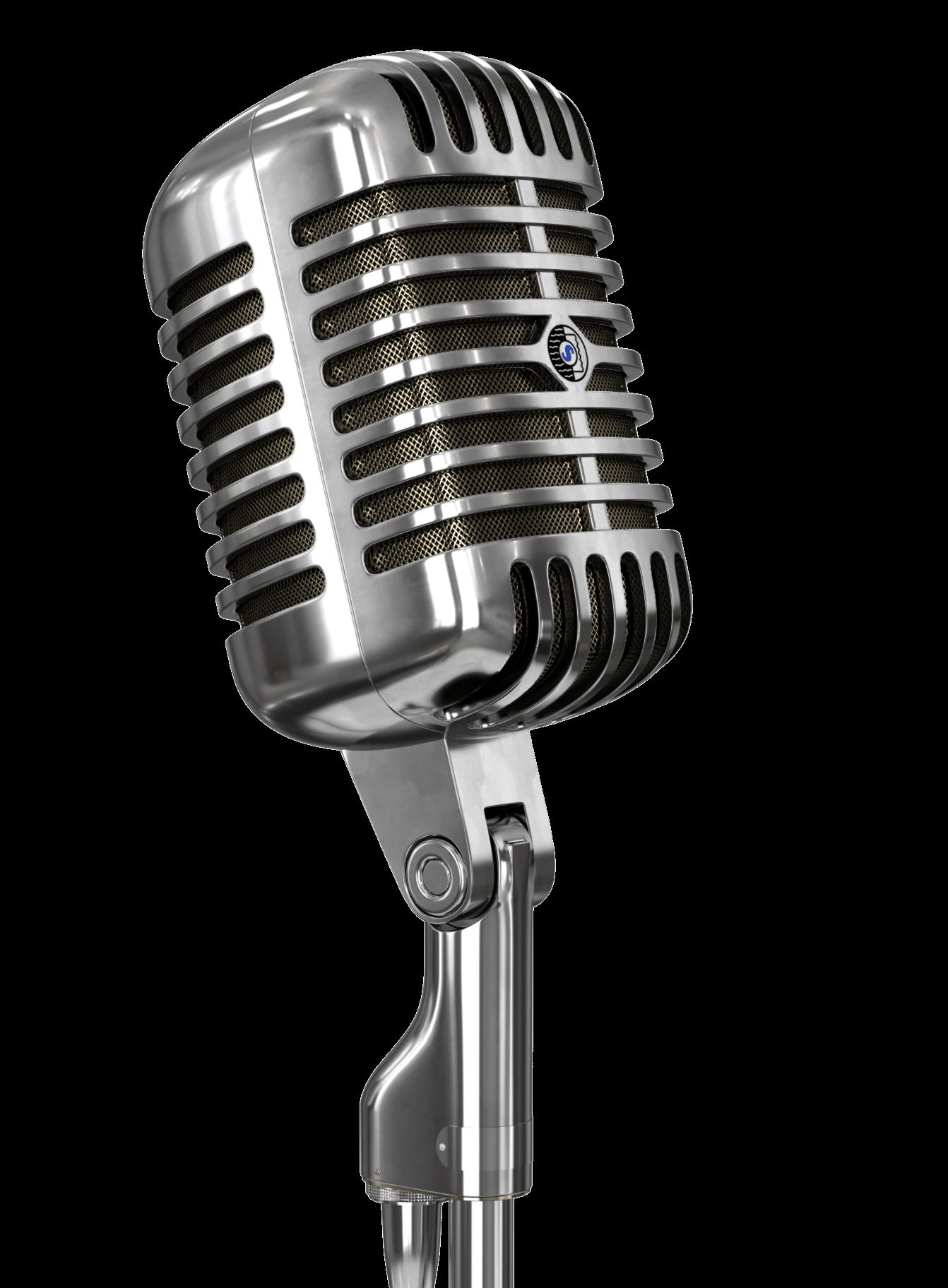 PNG Vintage Microphone - 56163