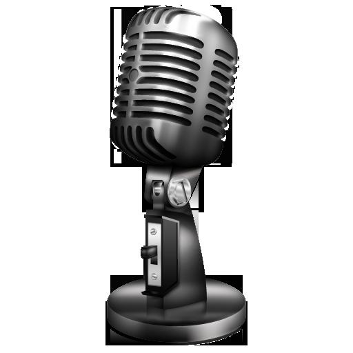 PNG Vintage Microphone - 56171