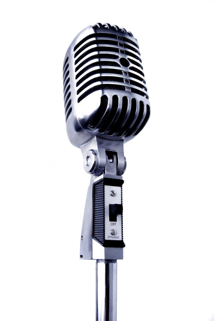 PNG Vintage Microphone - 56177