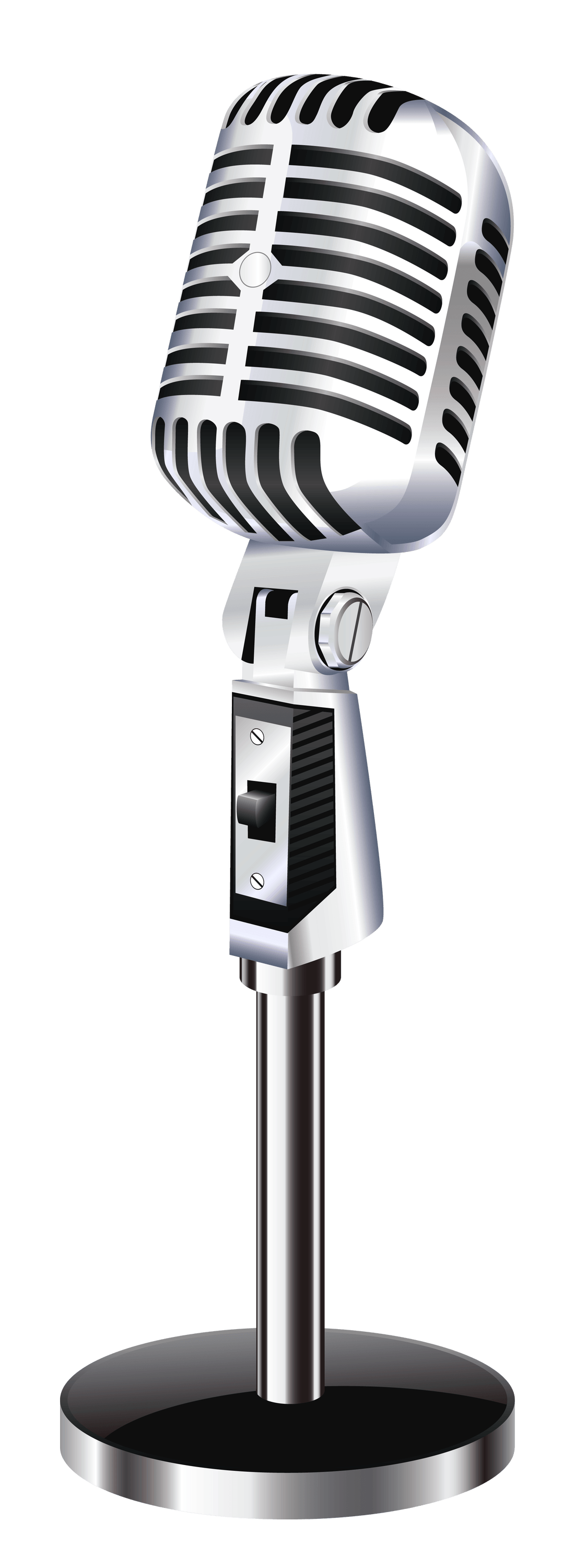 Vintage Table Microphone - PNG Vintage Microphone