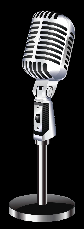PNG Vintage Microphone - 56164