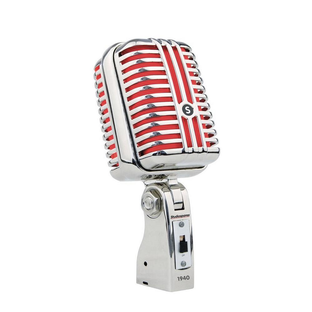Zoom - PNG Vintage Microphone