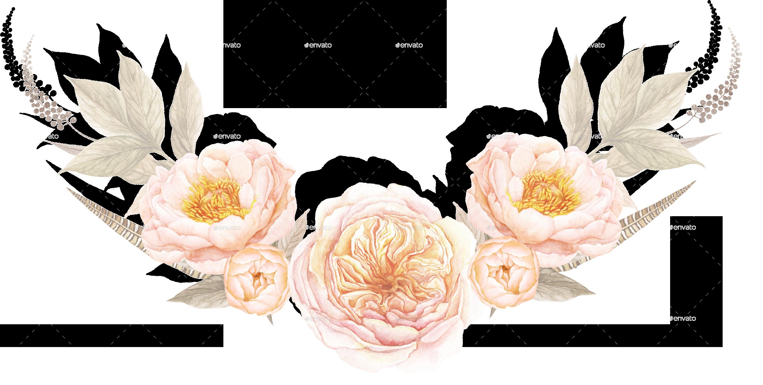TEABERRYfloralbouquet/floralbouquet1.png PlusPng.com  - PNG Vintage