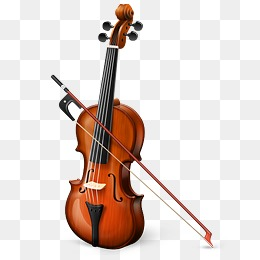 violin, Lovely, Cartoon, Violin PNG and PSD - PNG Violin