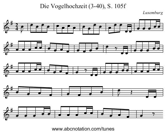 download: abc | midi | png | musicxml. Die Vogelhochzeit PlusPng.com  - PNG Vogelhochzeit